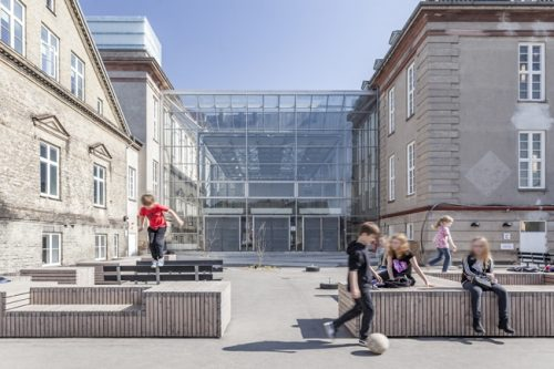 PLH Arkitekter│Skolen på Strandboulevarden [Architecture Photography]